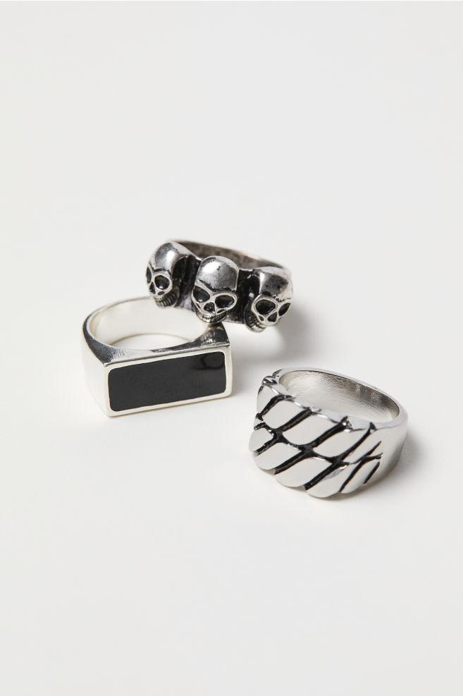 13ea96e7d2e73 3-pack Rings