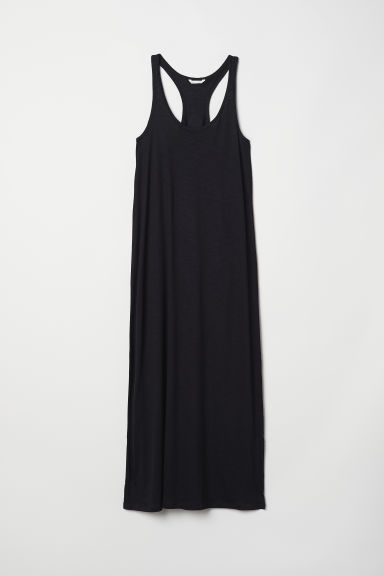 Modal-blend jersey dress - Black - Ladies | H&M CN