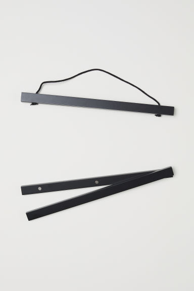 Wooden frame mount - Black - Home All | H&M CN
