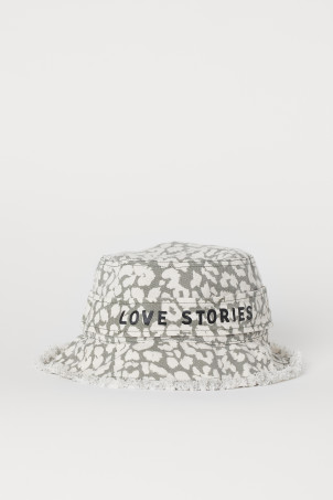 Cotton Twill Sun HatModel