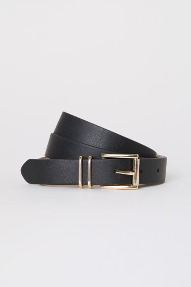 Belt - Black/Smooth - Ladies | H&M