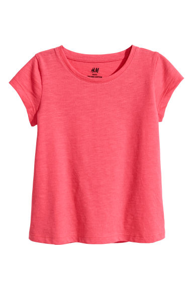 Jersey top - Raspberry red -  | H&M