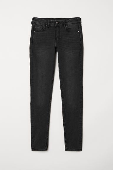 Super Skinny Regular Jeans - Mörkgrå denim -  | H&M FI