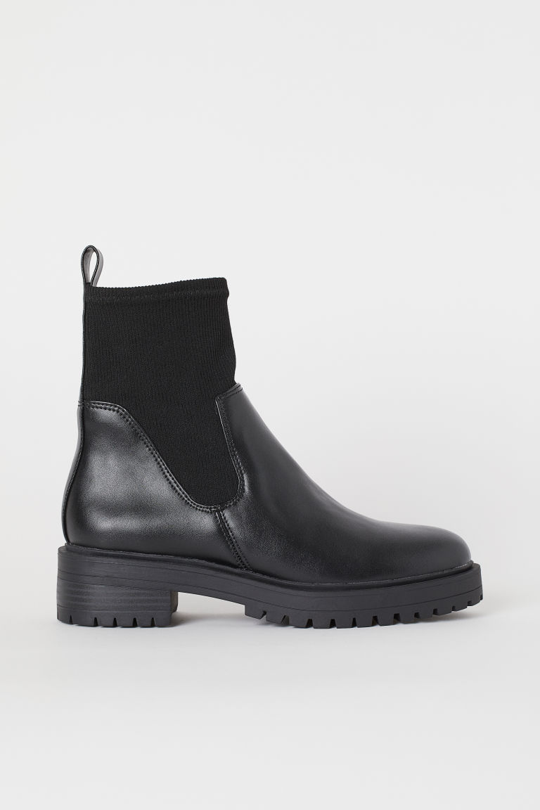 Boots with a soft shaft - Black - Ladies | H&M IE
