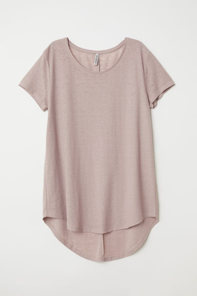 Jersey top - Dark old rose - Ladies | H&M CN