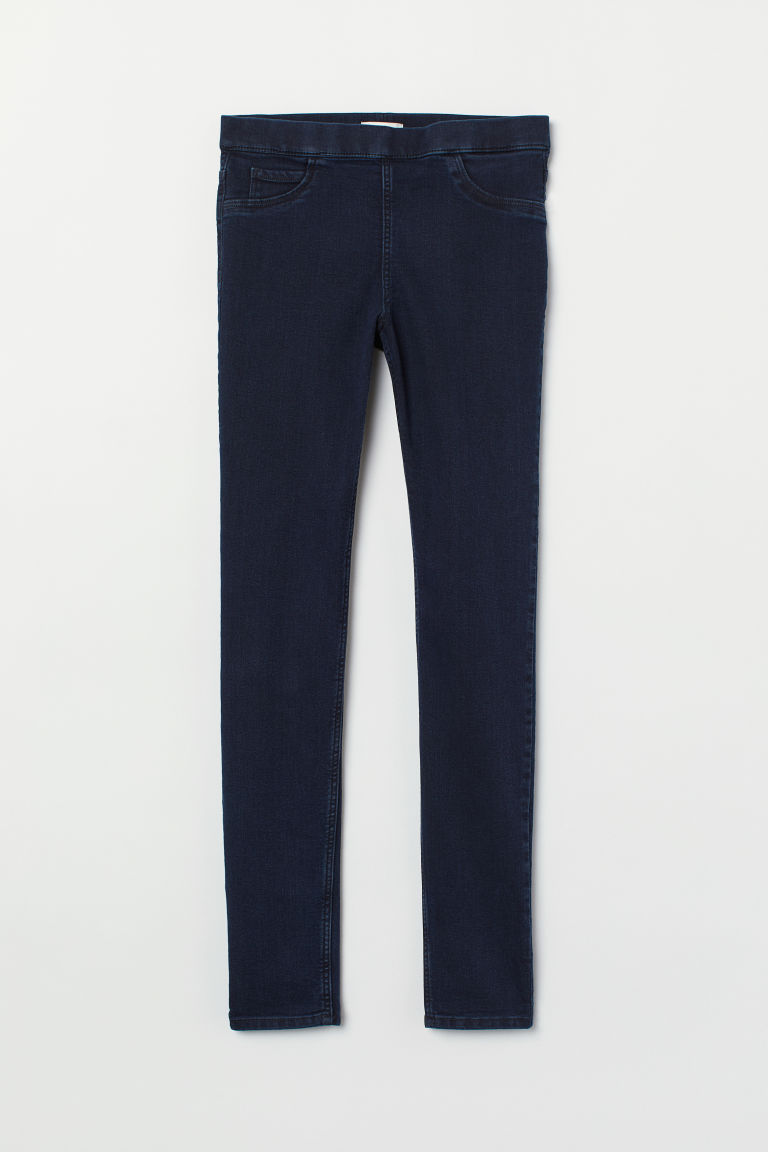 Superstretch treggings - Dark blue - Ladies | H&M