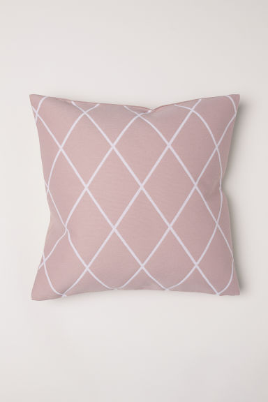 Jacquard-weave cushion cover - Dusky pink - Home All | H&M GB