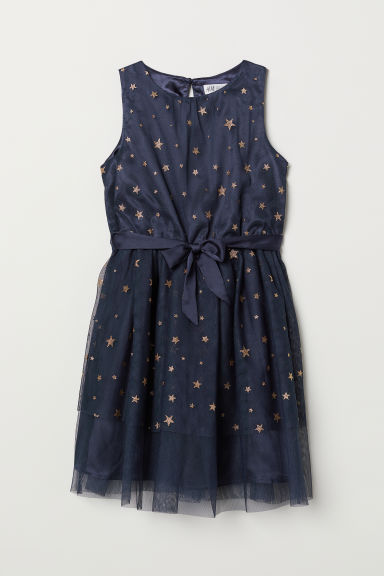 Tulle dress - Dark blue - Kids | H&M