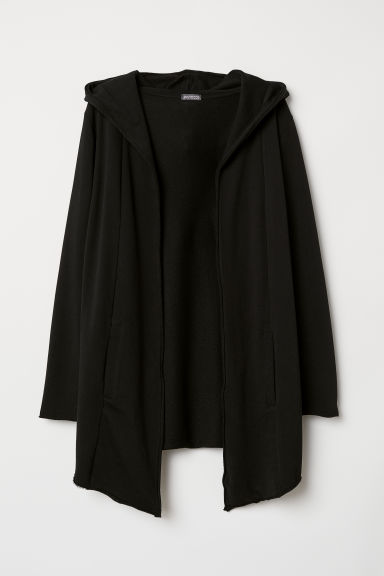Long cardigan - Black - Men | H&M