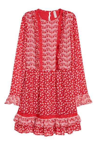 H&M - Chiffon dress - 1