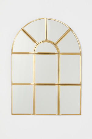 Window-shaped mirror