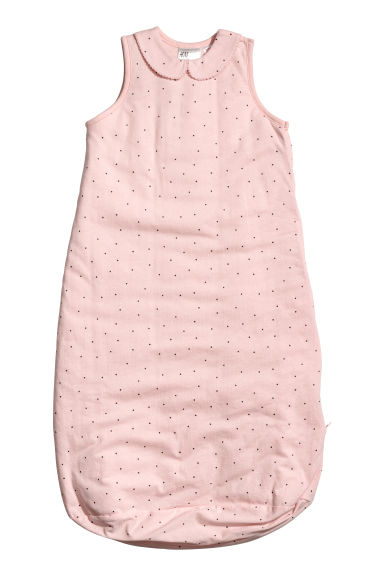 Sleep bag with a collar - Light pink - Kids | H&M