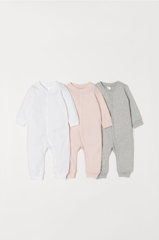 e674ee4e4b Pack 3 pijamas de algodón - Rosa - NIÑOS