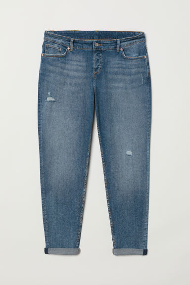 H&M+ Boyfriend Jeans - Denim blue - Ladies | H&M