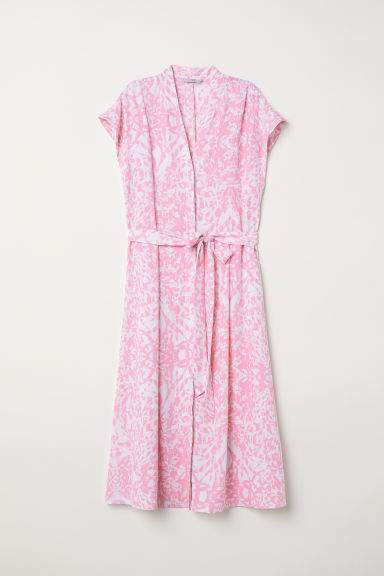 Patterned dress - Pink/Patterned -  | H&M CN