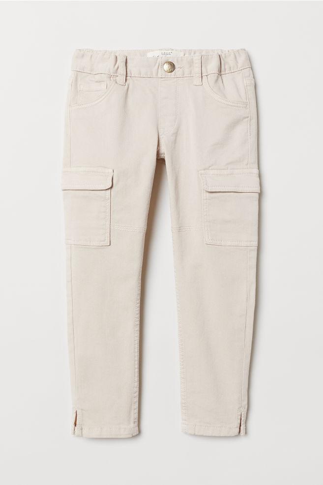 d749a5fc8 Cargo Pants - Light beige - Kids | H&M ...