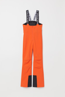 Ski trousers with bracesModel