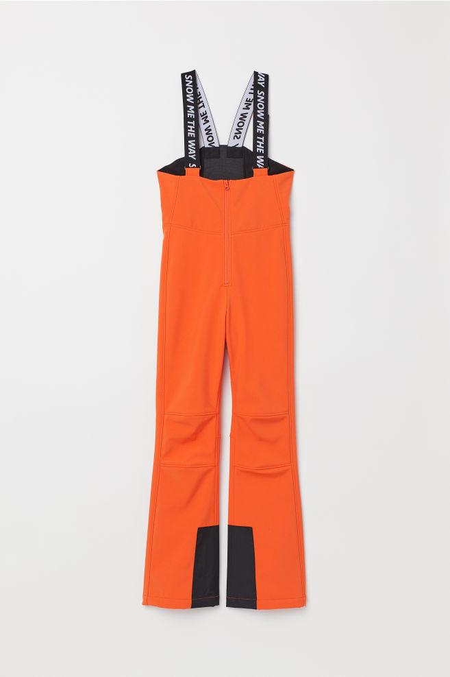 04ddb704 Bukser med seler - Orange - DAME   H&M ...