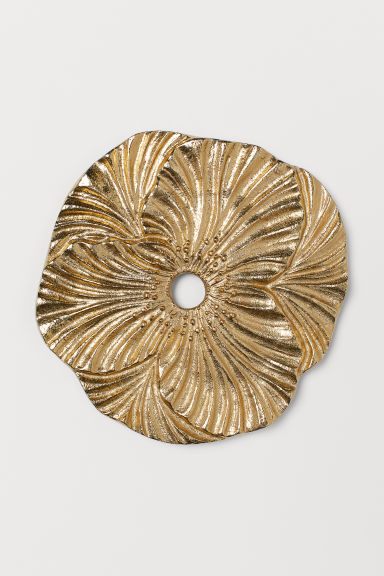 Metal trivet - Gold-coloured/Flower - Home All | H&M GB