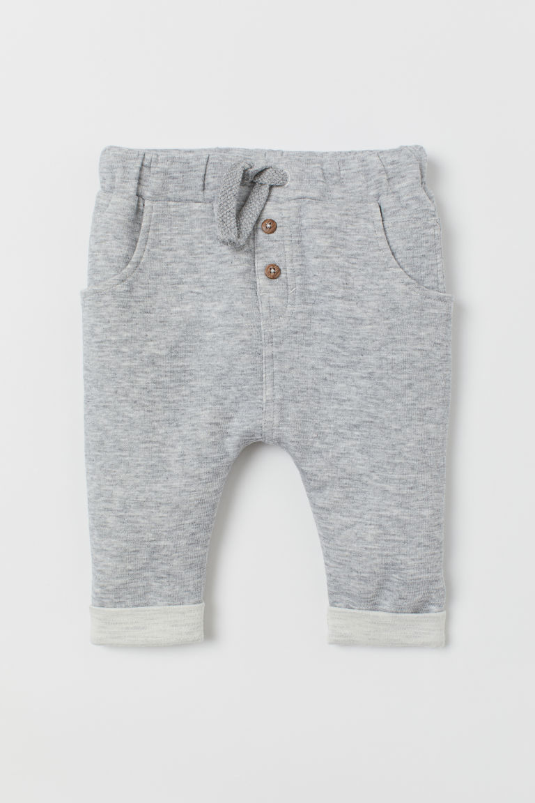 Joggers - Light grey marl - Kids | H&M CN