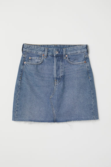 Denim skirt - Denim blue - Ladies | H&M