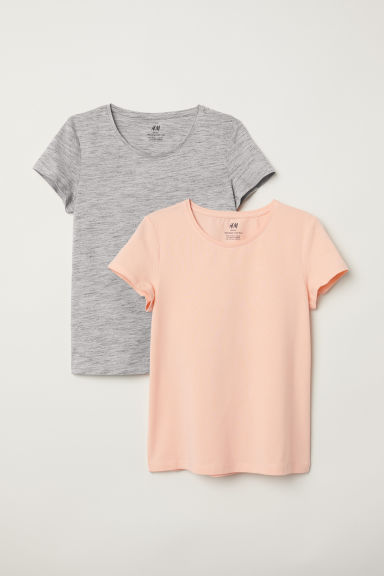 2-pack tops - Apricot -  | H&M