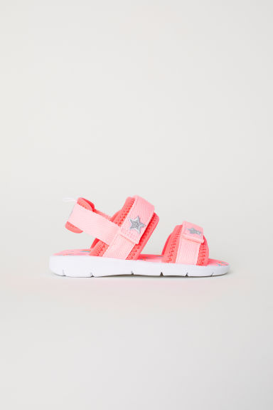 Scuba sandals - Pink/Rainbows -  | H&M CN