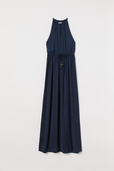 H&M - Satin maxi dress - 4