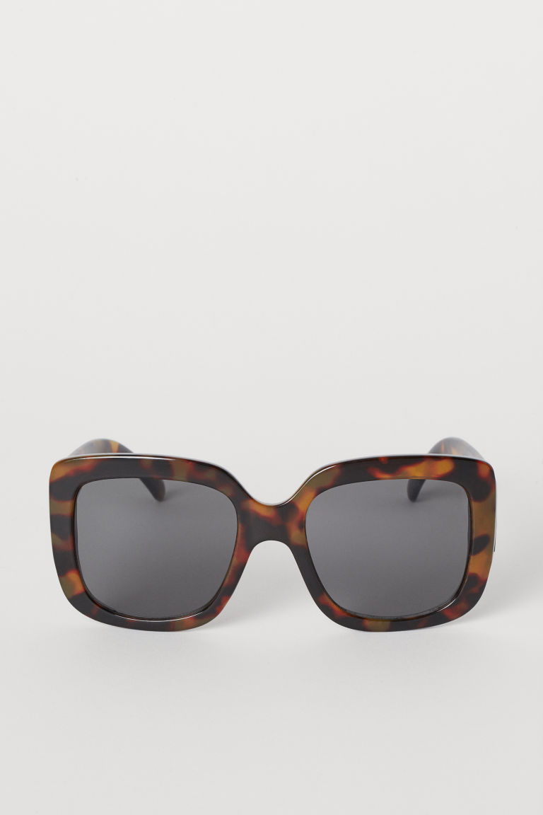 7c445f27c7888 Square sunglasses - Brown Tortoiseshell-patterned -
