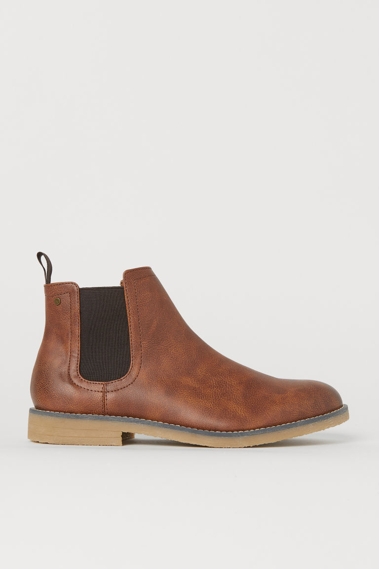 Chelsea boots - Cognac brown - Men | H&M