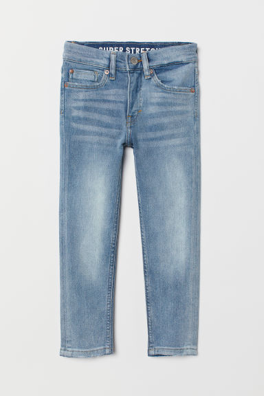 Superstretch Skinny Fit Jeans - Azul denim claro - NIÑOS | H&M ES