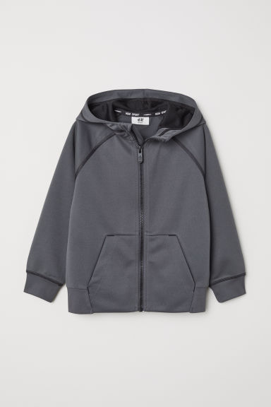 Sports jacket - Dark grey - Kids | H&M CN