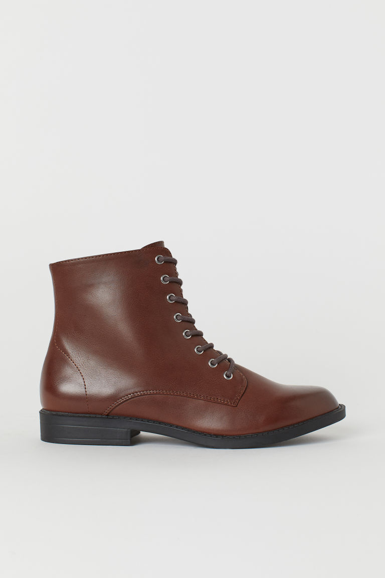 Boots - Dark brown - Ladies | H&M