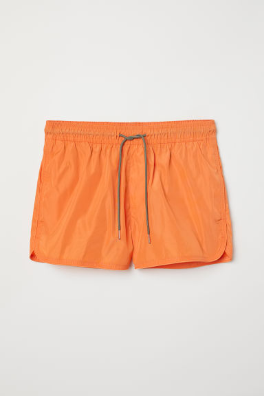 Short swim shorts - Orange - Men | H&M