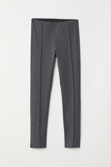 Jersey leggings - Dark grey -  | H&M CN