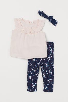 ce9fa2070e30 Babykläder flicka stl 68-104 | H&M SE