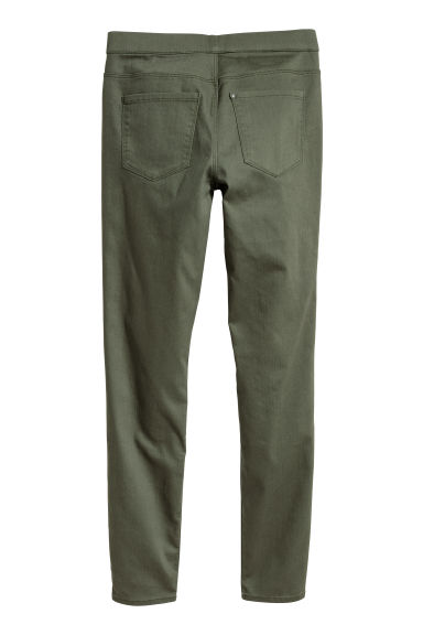 Superstretch treggings - Khaki green -  | H&M CN