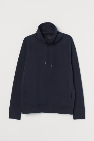 Chimney-collar Sweatshirt