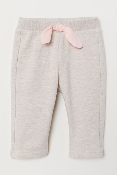 Trousers - Light beige marl - Kids | H&M