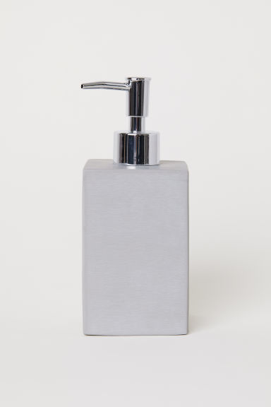 Soap dispenser - Grey - Home All | H&M CN
