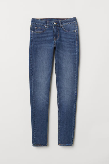 Slim Low Jeans - Dark denim blue -  | H&M