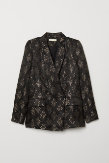 Jacquard-patterned Blazer