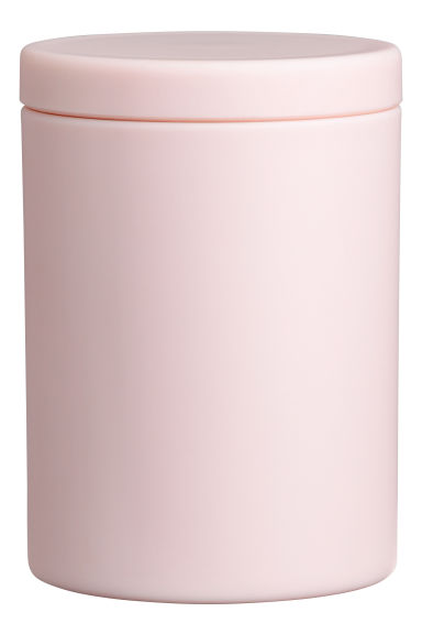 Cofanetto in plastica opaca - Rosa - HOME | H&M IT