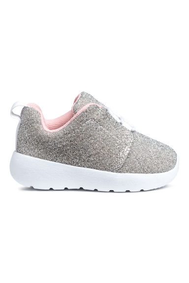 Trainers - Silver-coloured/Glitter - Kids | H&M CN