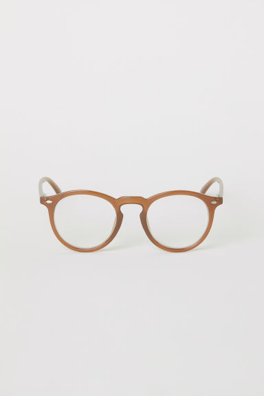 Glasses - Light brown - Men | H&M