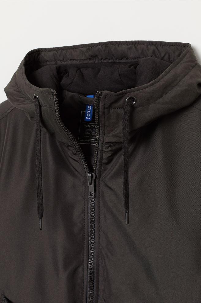 ed5352329 Padded jacket - Black - Men | H&M ...