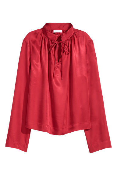 Blouse - Red -  | H&M CN