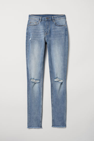 Skinny Regular Ankle Jeans - Denim blue - Ladies | H&M US