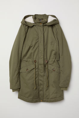 801be071aa73f Padded Parka with Hood