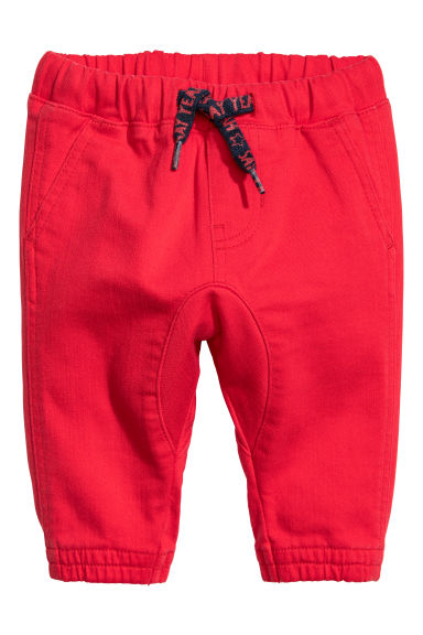 Pull-on trousers - Red - Kids | H&M